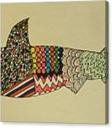 Bull Shark Canvas Print
