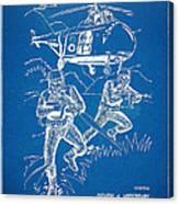 Bulletproof Patent Artwork 1968 Figure 15 Canvas Print