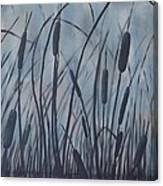 Bullrush Blues Canvas Print