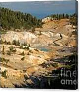 Bumpass Hell Canvas Print