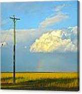 Bundy Fields Canvas Print