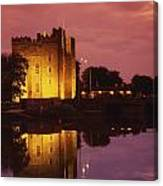 Bunratty, County Clare, Ireland Canvas Print