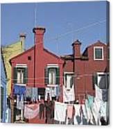 Burano. Venice Canvas Print