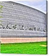 Burchfield Penny Art Center Canvas Print