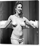 Burlesque Charms Canvas Print