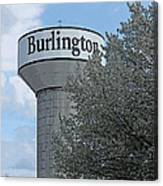 Burlington Canvas Print