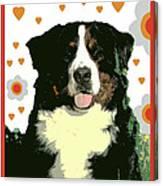 Burmese Mountain Dog Canvas Print