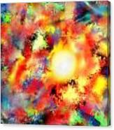 burn my Sun Canvas Print