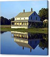 Burnham House Canvas Print