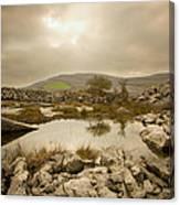Burren Lake Canvas Print