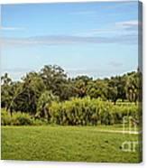 Busch Gardens Landscape Canvas Print