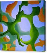 Bush Tango 12 Canvas Print