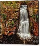 Bushkill Main Falls Canvas Print