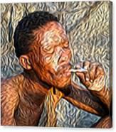 Bushman Canvas Print