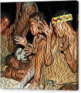 Bushmen Canvas Print