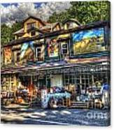 Business Near Thomas Wv Canvas Print