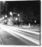 Busy Night On Peachtree _ Atlanta Canvas Print