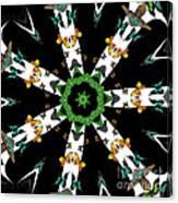 Butterflies Mania Kaleidoscope Canvas Print