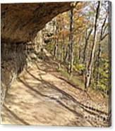 Buzzard Roost Rocky Trail Canvas Print