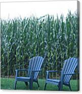 By The Cornfield Canvas Print
