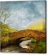 By The River Canvas Print