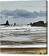 By The Sea - Seaside Oregon State  Canvas Print
