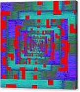 Byte Byway Canvas Print