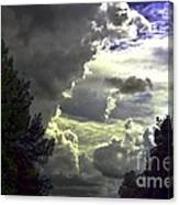 C Is For Clouds Canvas Print