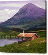 Cabin On Tangle Lake Canvas Print