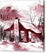 Cabin2 Canvas Print