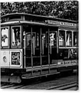 Cable Car Canvas Print