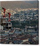 Cable Car In Grenoble  Canvas Print