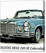 Cabriolet Canvas Print