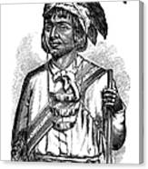 Caddo Chief, 1879 Canvas Print