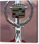 Cadillac Hood Ornament Canvas Print