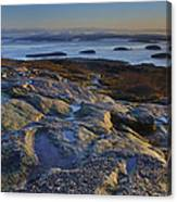 Cadillac Mountain And Frenchman's Bay Canvas Print