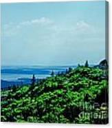 Cadillac Mt Mt Desert Island Me Canvas Print
