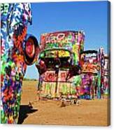 Cadillac Ranch 2  Canvas Print