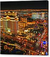Caesars Palace On The Strip Canvas Print