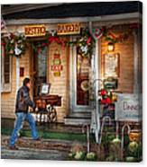 Cafe - Clinton Nj - Bistro Bakery  Canvas Print