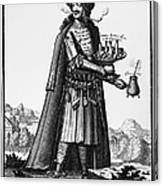 Cafe Owner, C1690 Canvas Print