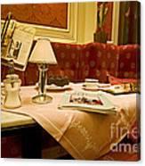 Cafe Sacher - Vienna Canvas Print