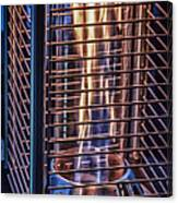 Caged Fire Canvas Print