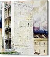 Cagliari - Torre Dell'elefante Canvas Print