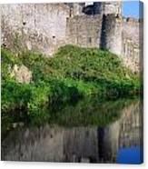 Cahir Castle, River Suir, County Canvas Print