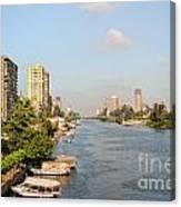 Cairo City Streets Canvas Print