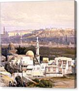 Cairo From The Gate Of Citizenib  Looking Toward The Desert Of Suez Canvas Print