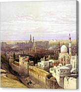 Cairo From The West Canvas Print