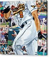 Cal Ripkin Jr Canvas Print