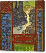 Calendar, 1923 Canvas Print